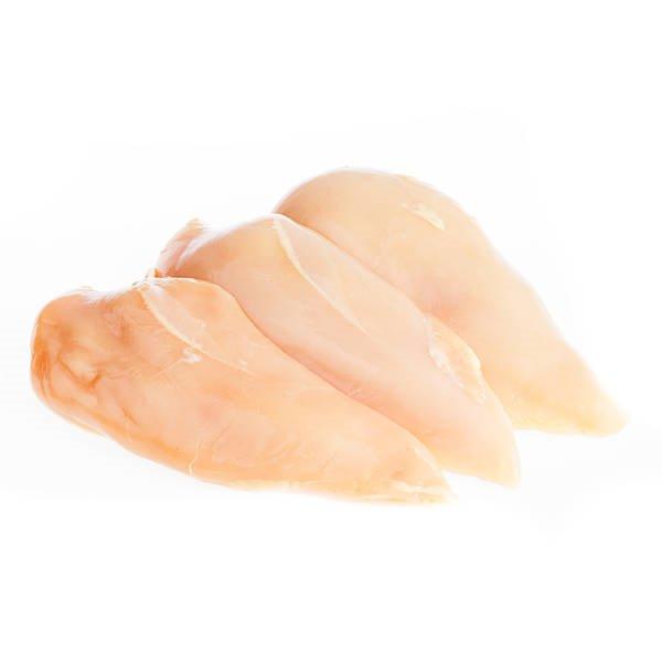 Filetes de pollo de corral
