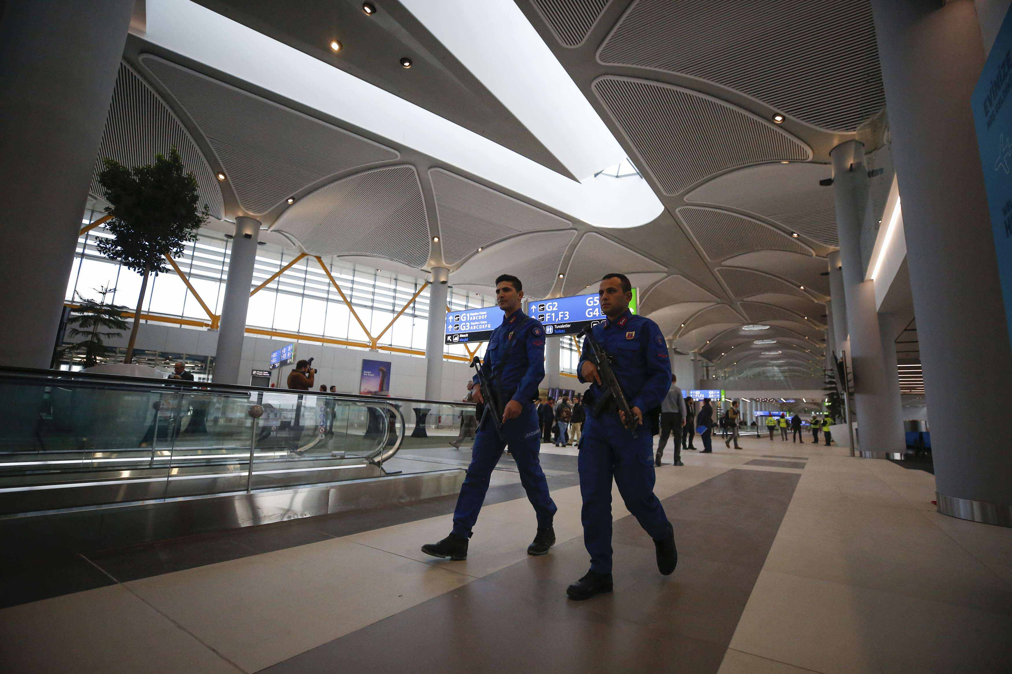 When all four construction phases are complete in 2028, the airport will have six runways and two terminal buildings