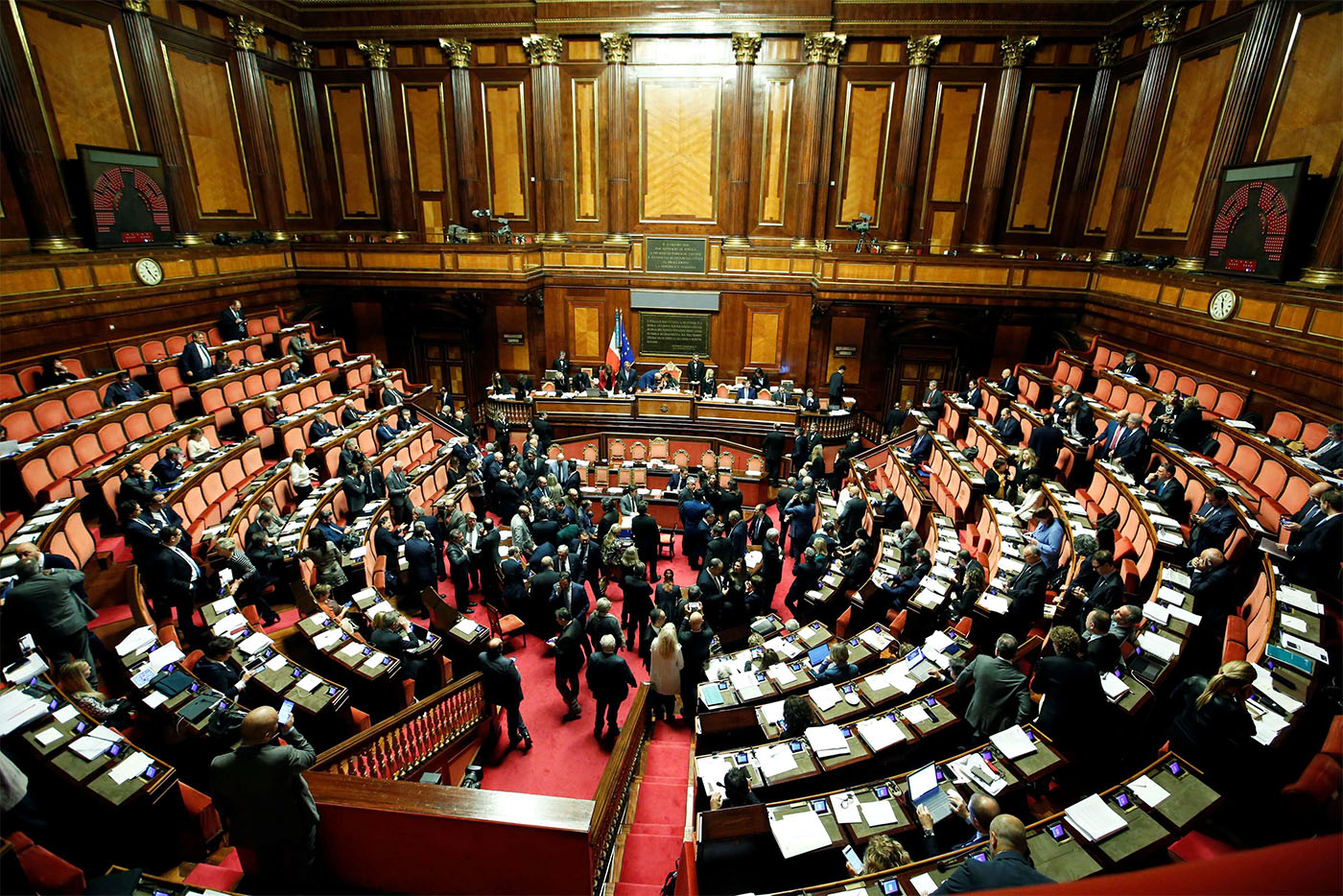 Italy's populist government won the confidence vote
