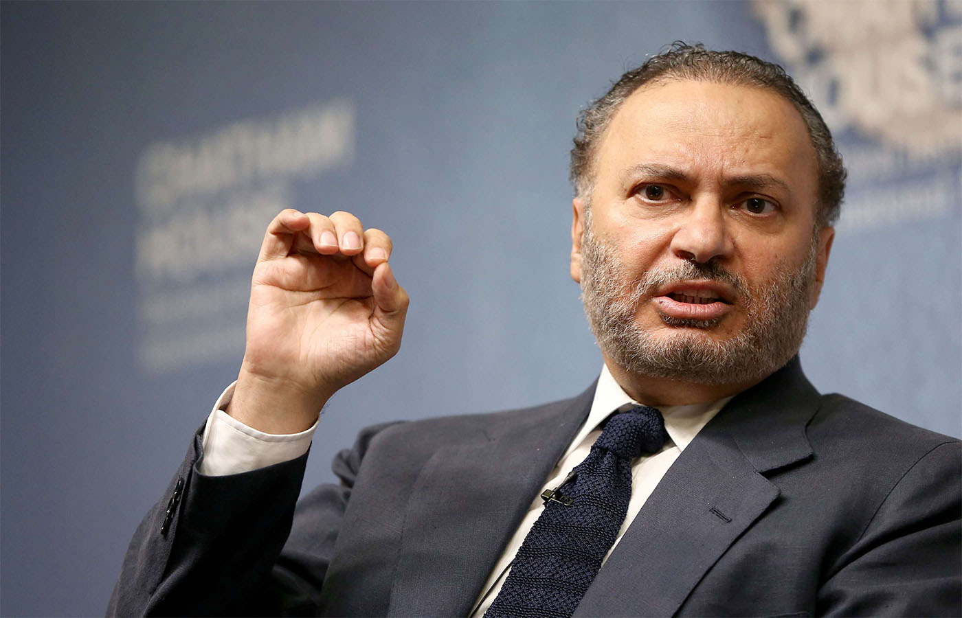 UAE Minister of State for Foreign Affairs Anwar Gargash