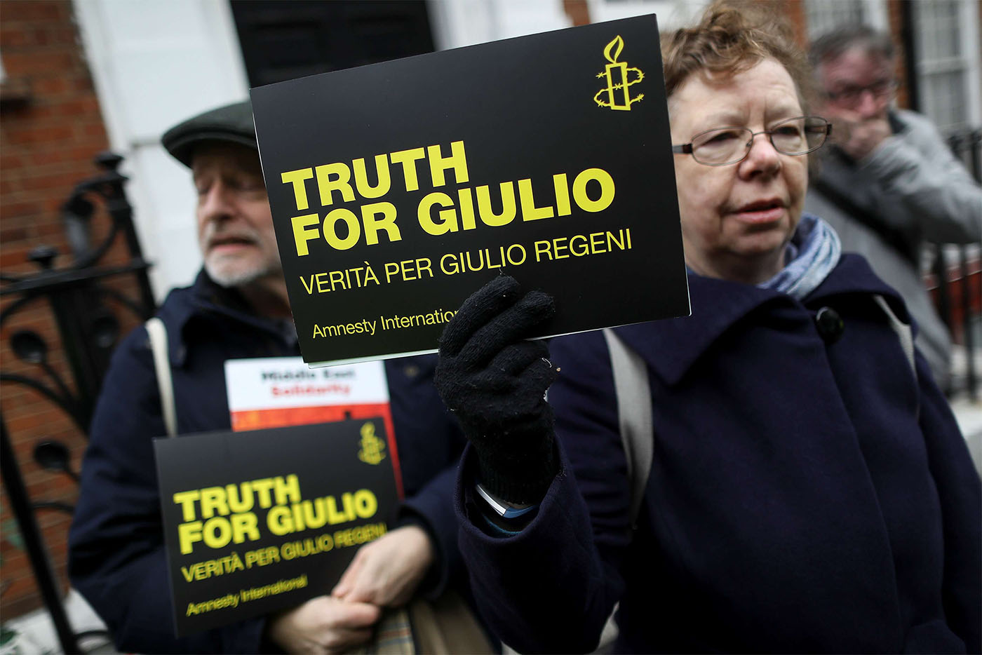 Egypt has always denied suggestions that its security services were involved in the death of Regeni