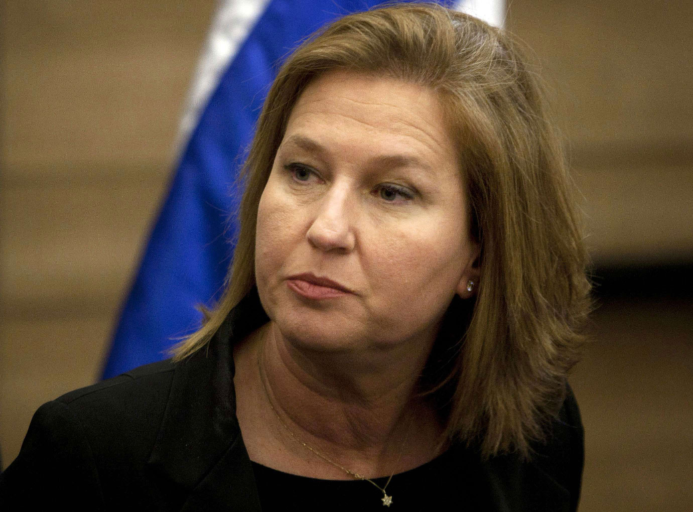In this Wednesday, Nov. 30, 2011 file photo, former Israeli Foreign Minister Tzipi Livni attends a news conference at the Knesset, Israel's parliament, in Jerusalem.