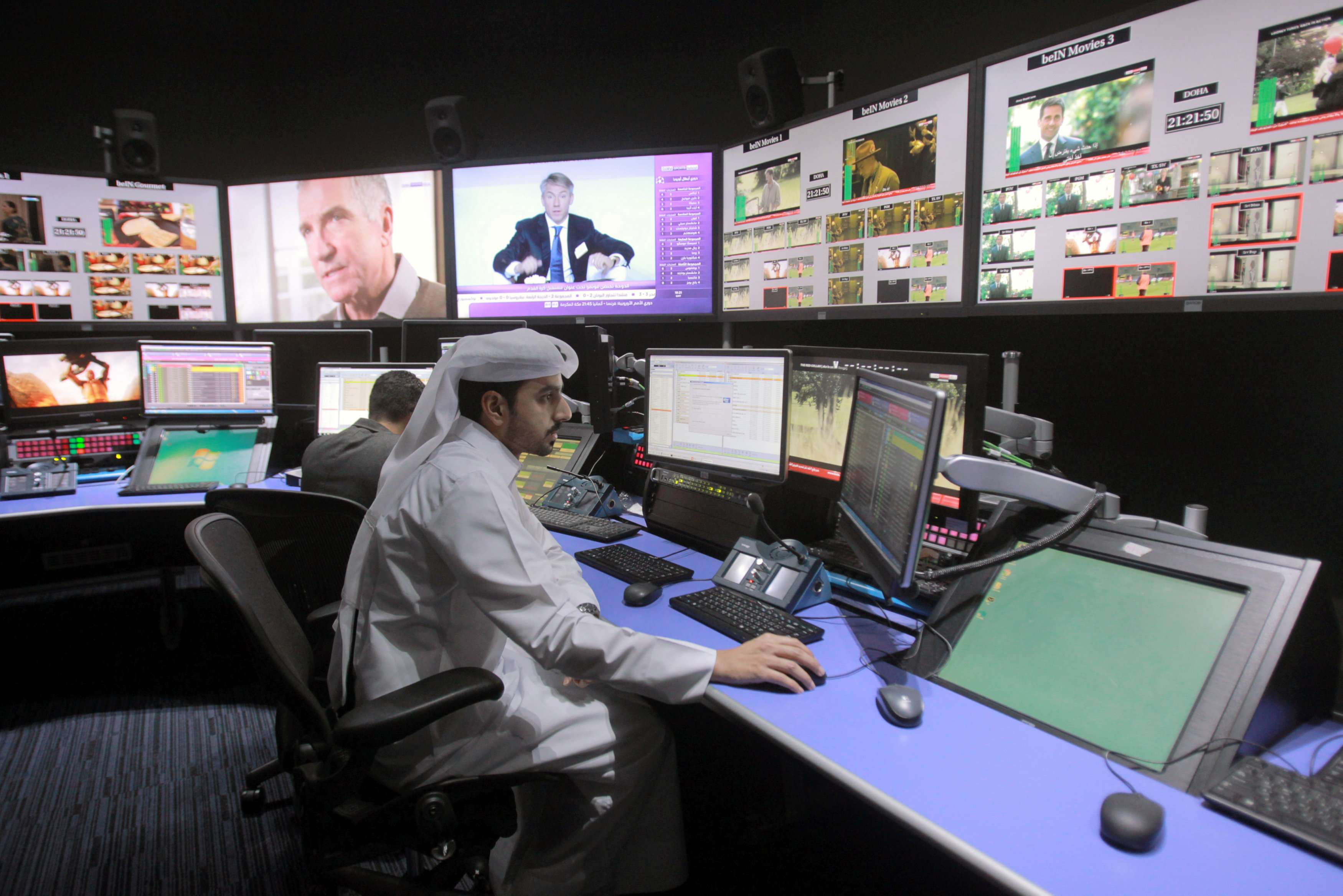 "Last January, an Egyptian court imposed a $22-million fine on beIN for ""violating anti-trust regulations"""