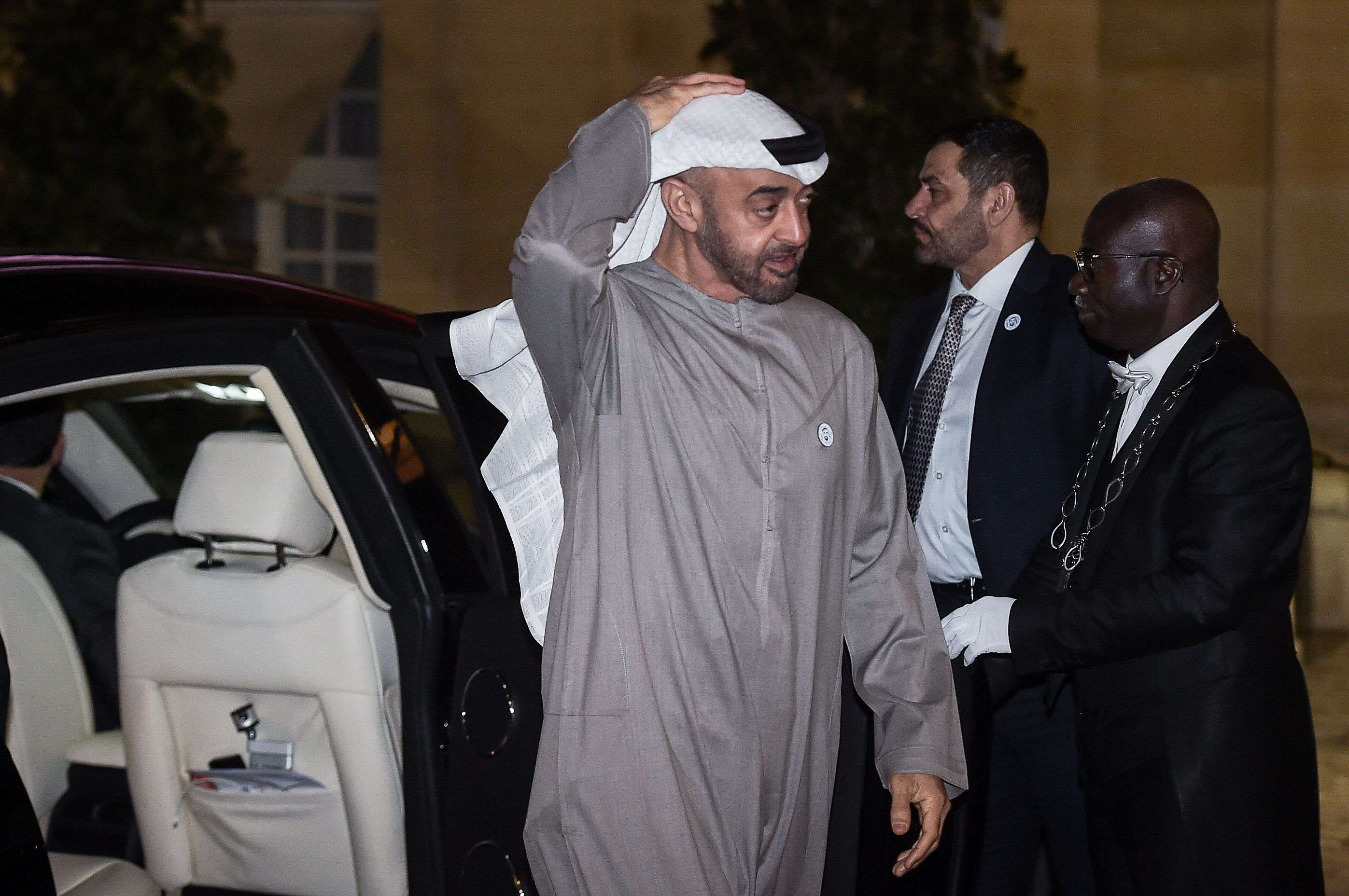 """Al Nahyan, who is also deputy chief of the UAE's armed forces, """"will have a one-on-one meeting"""" with Khan"""