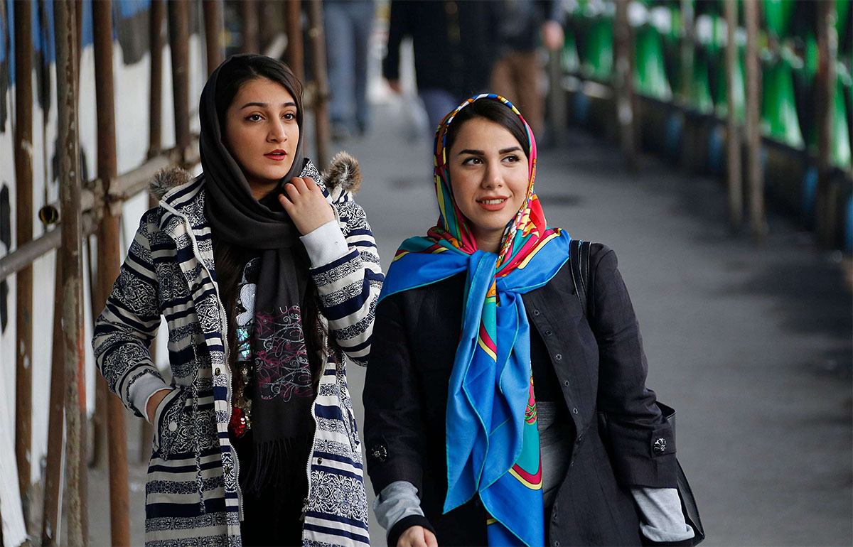 Clothing norms in Iran have gradually but significantly changed in recent years