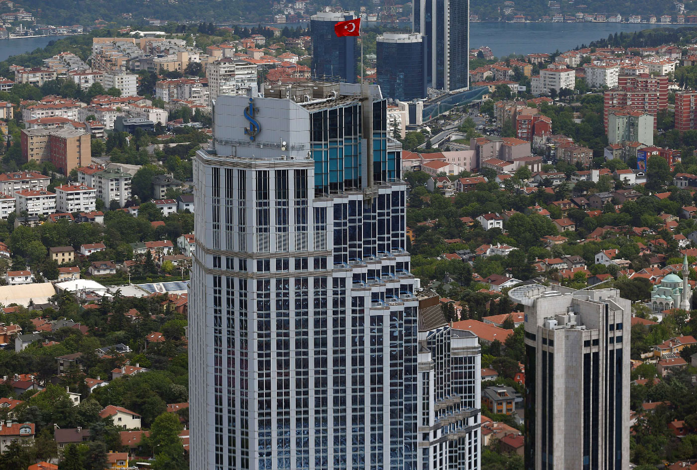 Headquarters of Isbank is pictured in Istanbul, Turkey May 3, 2016.
