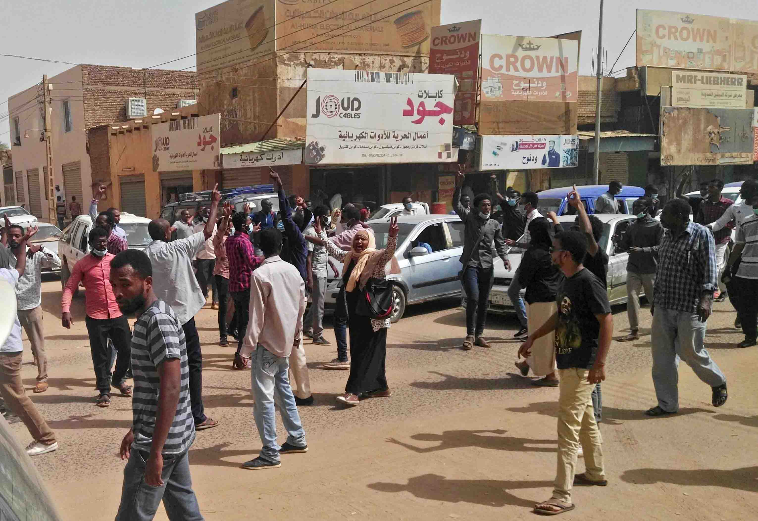 "On Wednesday, Bashir acknowledged that youths, mainly women, were leading the rallies and said the public order law was ""one of the reasons"" for their anger."