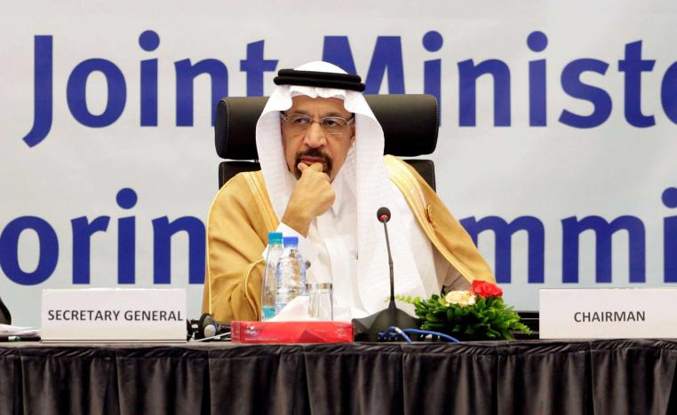 Saudi Arabian Energy Minister Khalid al-Falih during the inaugural session ceremony of the OPEC Ministerial Monitoring Committee in Algiers, Algeria September 23, 2018
