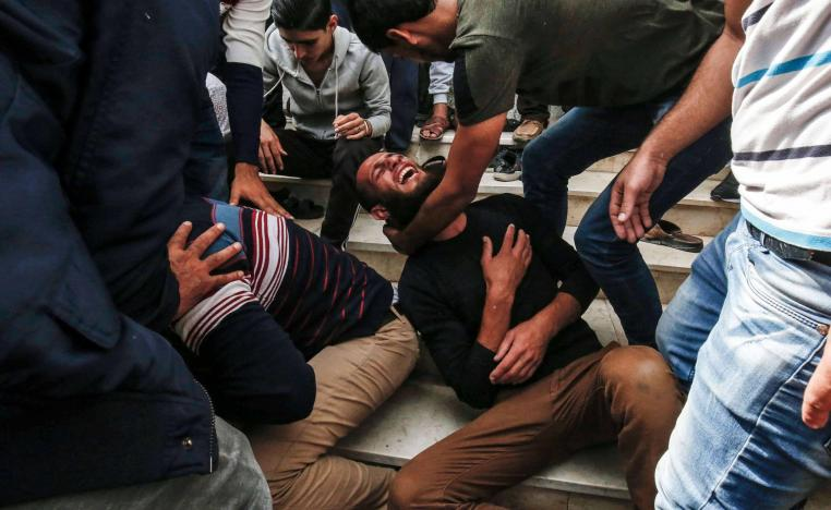 Five other Palestinians were also shot dead during Friday's protests