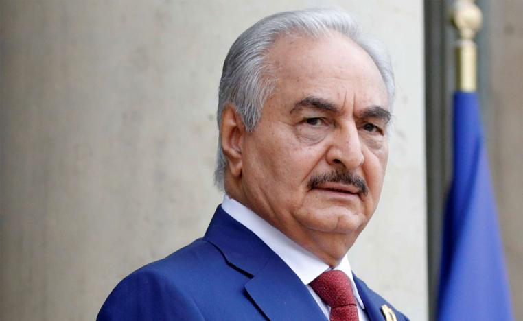 Khalifa Haftar, the military commander who dominates eastern Libya