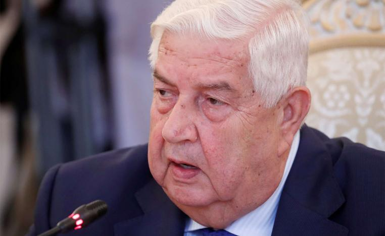Syrian Foreign Minister Walid al-Moualem s