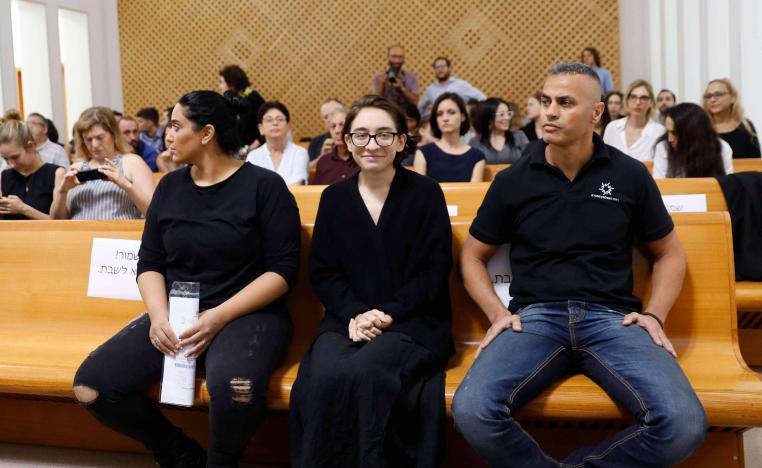 Lara Alqasem smirks at Supreme Court hearing
