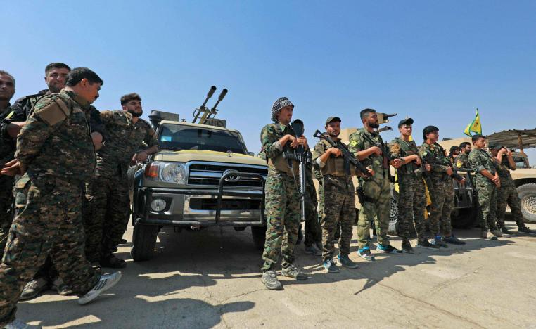 The YPG holds swathes of territory in northern and northeastern Syria