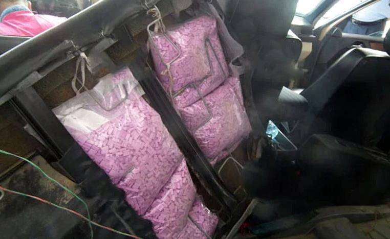 The suspects tried to smuggle Ecstasy drugs into Morocco