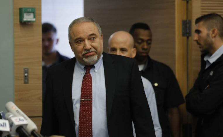 Lieberman has spoken in favour of harsh Israeli military action in Gaza.
