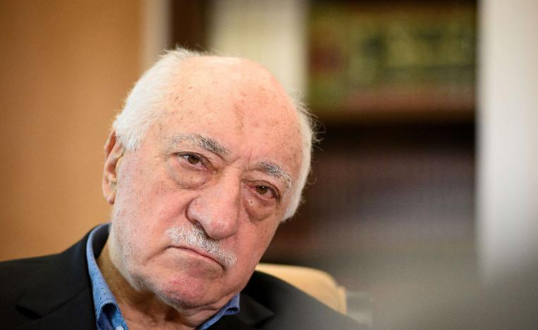 US based Turkish cleric Fethullah Gulen at his home in Saylorsburg, Pennsylvania, on July 10, 2017.