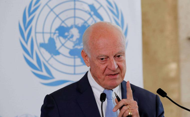 The United Nations will be represented at the negotiations by Syria envoy Staffan de Mistura