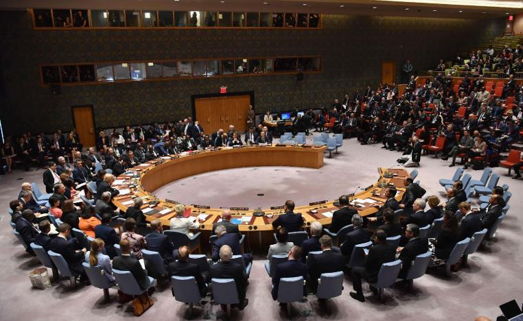 The UN Security Council meets in New York.