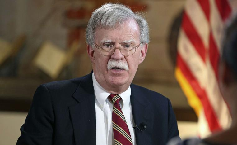 nited States National Security Adviser John Bolton.
