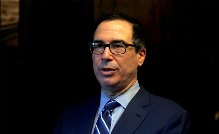 US Treasury Secretary Steven Mnuchin