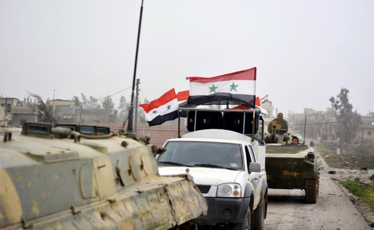 """The withdrawal likely came """"under a deal with the regime forces"""" after weeks of encirclement and air raids"""