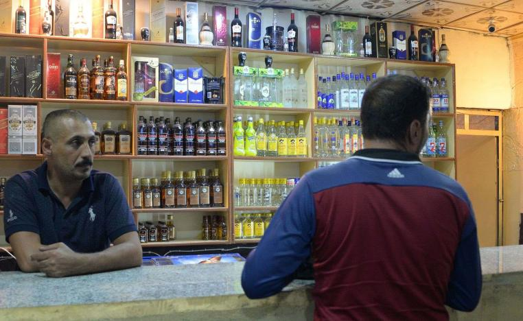 Owners of Mosul's bottle shops are all Yazidi or Christian, as Iraq does not grant alcohol licenses to Muslim citizens.