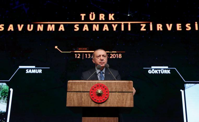 """Erdogan claimed Turkey was not being protected from terrorists but """"terrorists were being protected"""" from possible action by Turkey"""