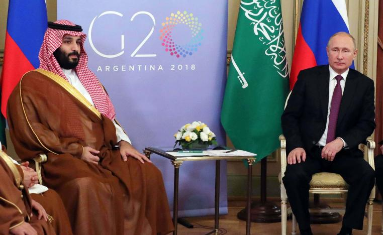 """""""We are going to survey together the market situation with Saudi Arabia and respond to it operationally,"""" said Putin."""