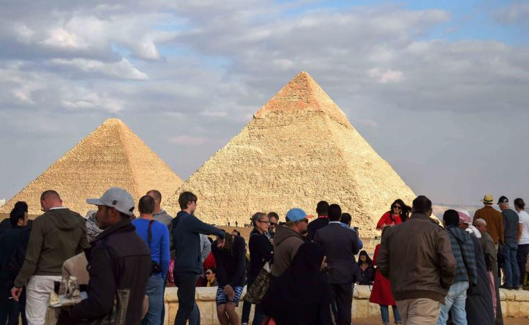 Earlier hit hard by a string of bloody attacks and unrest, visitor numbers to Egypt have more recently staged a partial recovery.