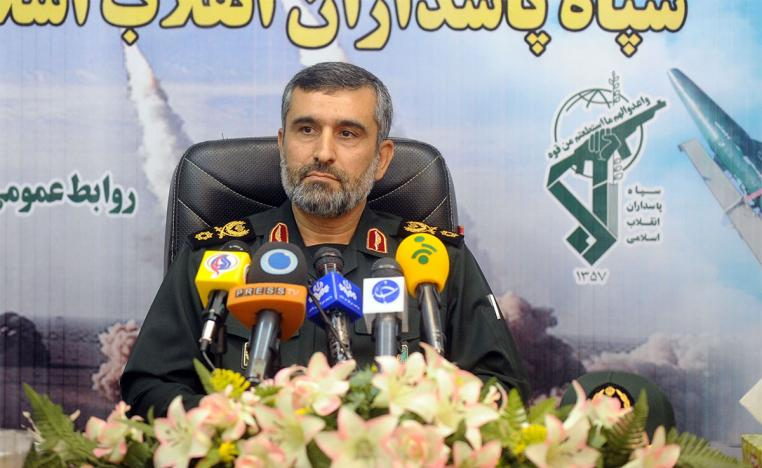Revolutionary Guards aerospace commander Brigadier General Amirali Hajizadeh