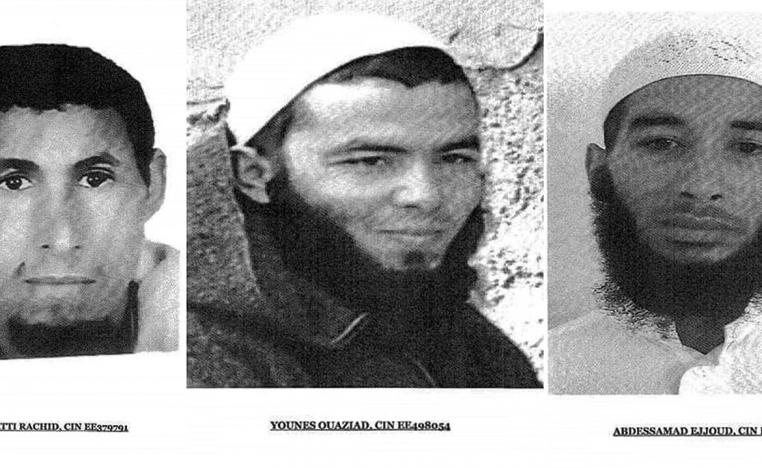 The three fugitive suspects that have been arrested
