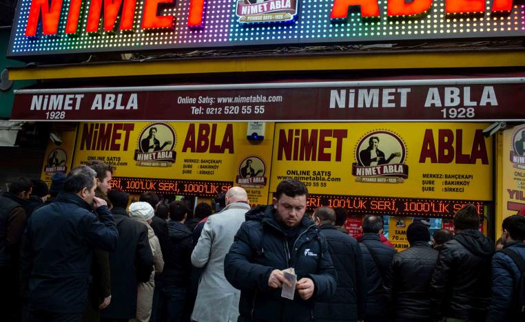 """""""I've been trying my luck with Nimet Abla for 50 years,"""" the retired man says. """"I have never won... for now!"""""""