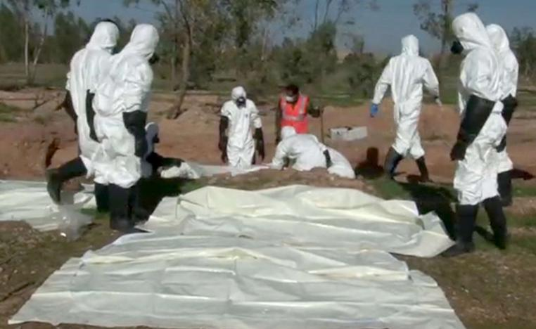 In recent months, both Syria and Iraq have discovered a number of mass graves in areas previously occupied by the jihadists.