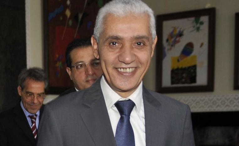 Morocco's sports minister Rachid Talbi Alami