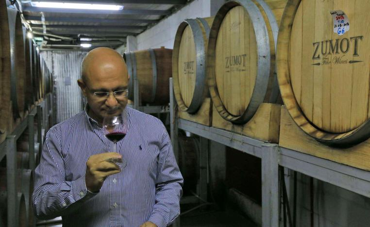 "Wine production started in the Nabatean kingdom ""in the middle of the first century BC"""