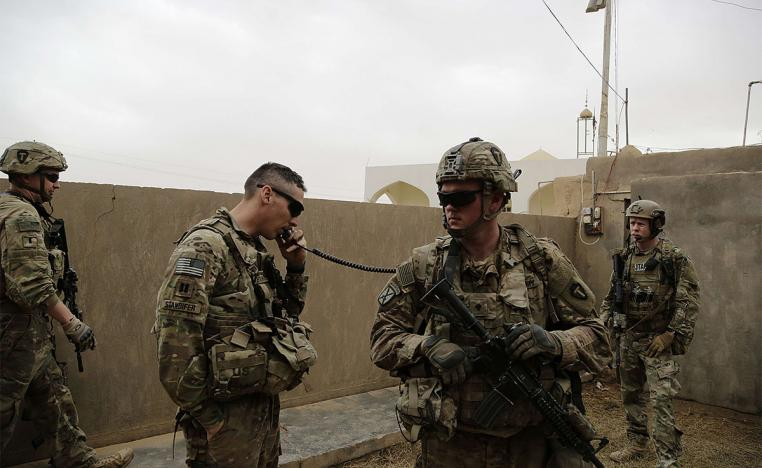 US troops will remain in Iraq after the withdrawal of all troops from Syria