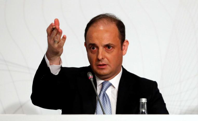 Turkey's central bank governor Murat Cetinkaya