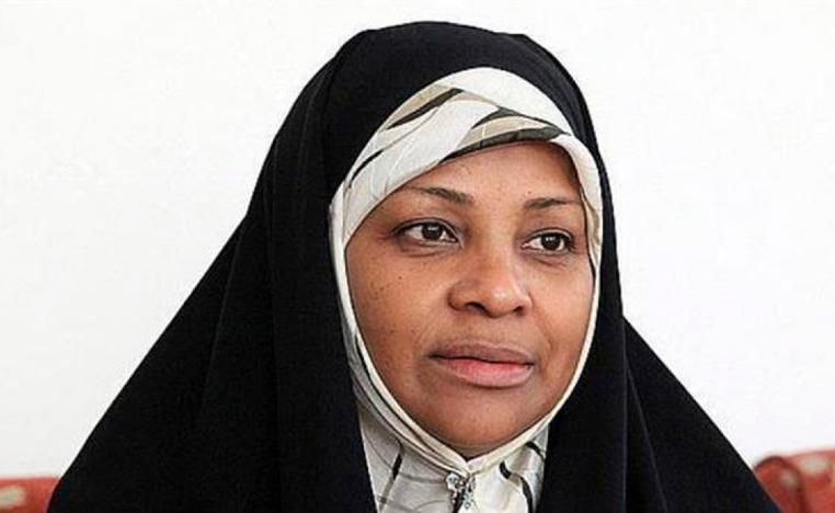 This undated photo provided by Iranian state television's English-language service, Press TV, shows its American-born news anchor Marzieh Hashemi.