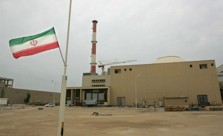 The building housing the reactor of the Bushehr nuclear power plant in Bushehr