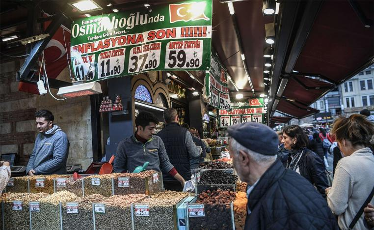 The central bank kept the food inflation estimate for 2019 at 13 percent