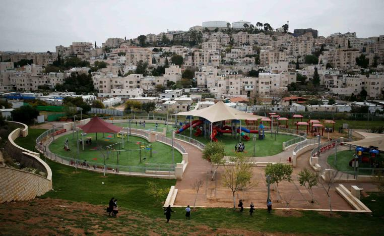 An NGO says that settlement construction approvals have soared since US President Donald Trump took office in 2017
