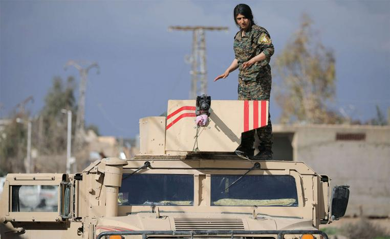 US-backed Syrian Democratic Forces