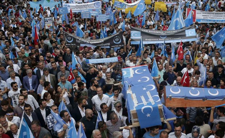 """A UN panel of experts has said that nearly one million Uighurs and other Turkic-speaking minorities had been herded into """"re-education camps"""""""