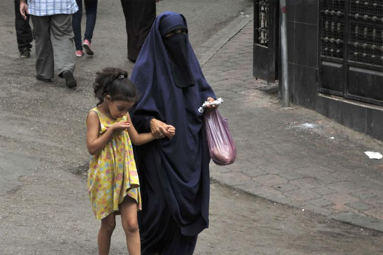 Not so many women wear the niqab in Algeria