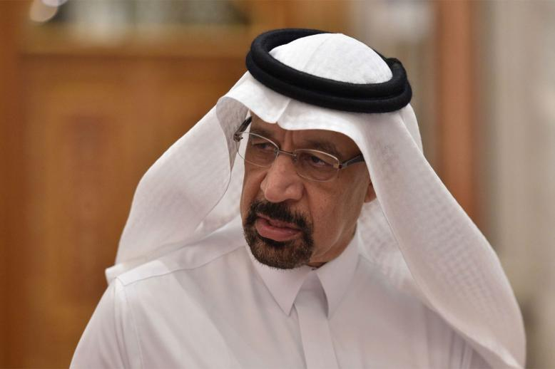 Saudi Energy and Oil Minister Khalid al-Falih