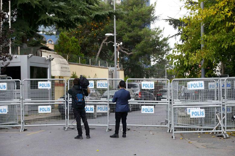 On Friday, prosecutors questioned staff members of the Saudi Arabian consulate in Istanbul