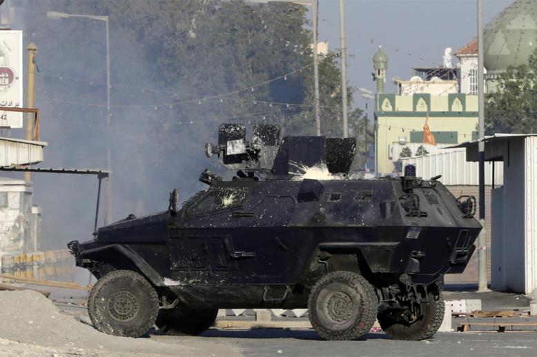 A police officer was killed in the blast in Diraz outside the capital Manama last year
