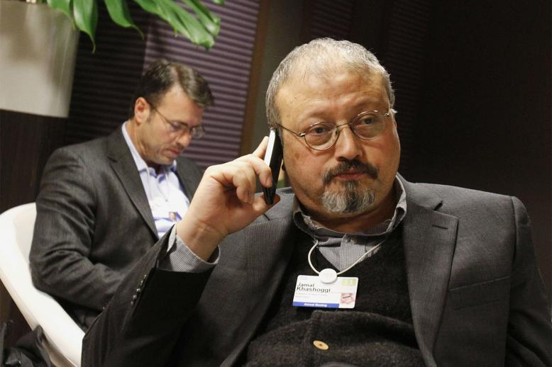 Khashoggi was killed in the Saudi consulate in Istanbul on Oct. 2 after a struggle by lethal injection