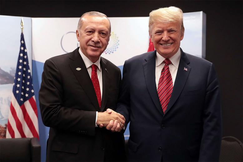 Erdogan again urged the US to drive the Kurdish militia out of Manbij