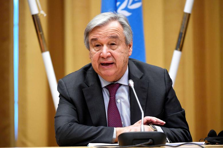 The UN chief said he had no information on the case except what had been reported in the media